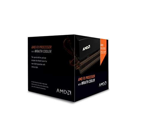 AMD FX 8-Core Black Edition FX-8350 Processor with Wraith Cooler (FD8350FRHKHBX) (Best Motherboard For Amd Fx 9590)