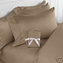 Hotel Luxury Bed Sheets Set-ON SALE TODAY! On Amazon-Top Quality Softest Bedding 1800 Series Platinum Collection-100%!Deep Pocket,Wrinkle & Fade Resistant (Full,Taupe)