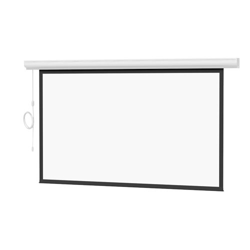 Da-Lite Designer Contour Electrol HDTV Format Electric Wall and Ceiling Projection Screen with Integrated Infrared Remote, 37.5