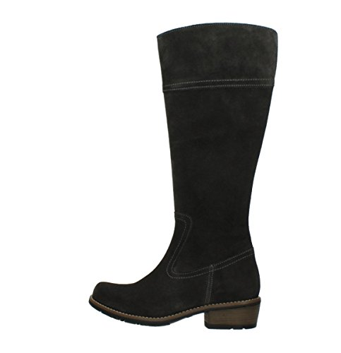 Comfort Anthracite Tinto Oiled Boots 40210 Suede Wolky z0qC0