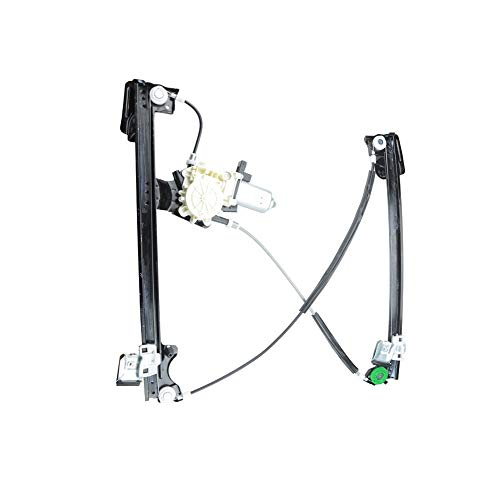 Front Right Passenger Side Power Window Regulator and Motor Assembly for Land Rover Freelander ()