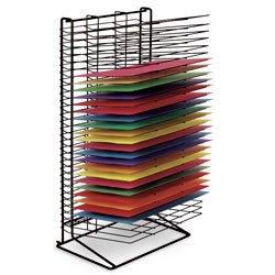 Nasco Wall Hugger 30-Shelf Drying Rack - Arts & Crafts Materials - 9707741 by Nasco