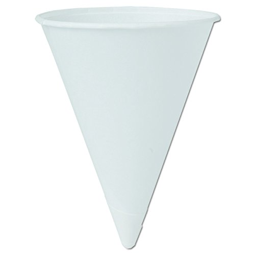 [Solo Foodservice 4BR-J8614 Water/Refill Cup, 4 oz, Bare (Pack of 5000)] (New Prima Chipboard)