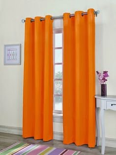 Gorgeous Home 1PC ORANGE 55 WIDE X 63