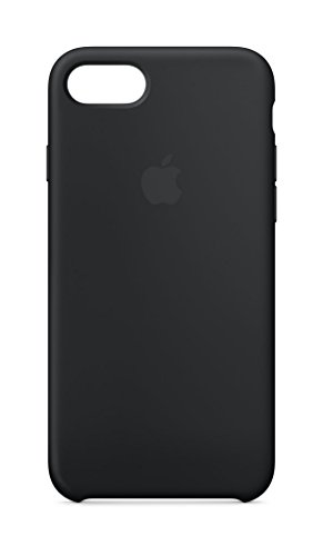 Apple Silicone Case (for iPhone 8 / iPhone 7) - Black - MQGK2ZM/A