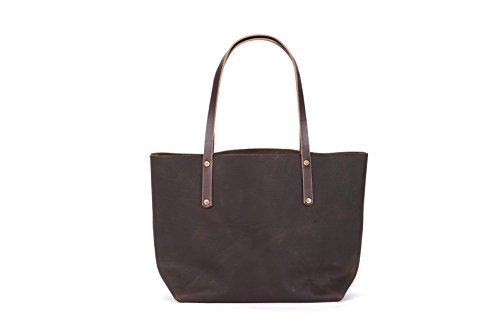 Leather Tote Bag - Avery Tote by Go Forth Goods