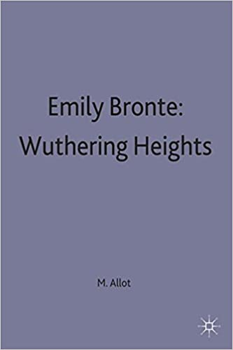 emily bronte wuthering heights a selection of critical essays casebooks series amazoncouk miriam allott 9780333533680 books