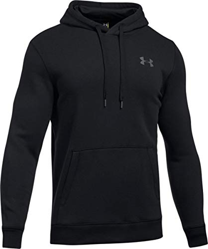 Under Armour Men's Rival Fitted Pullover Black/Graphite ()