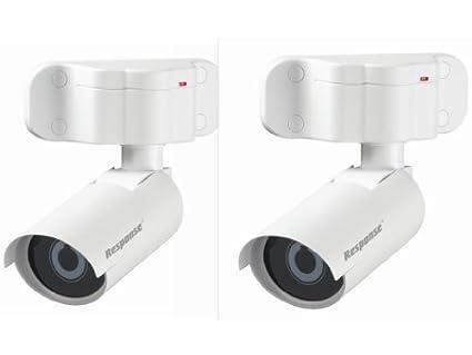 2 x Cámaras de seguridad simuladas - uso interior o exterior - calidad Friedland cámara ficticia