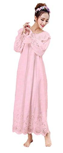 Soojun Embroidery Victorian Nightgown Sleepwear
