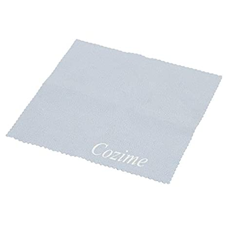 WEIWEITOE-ES Phone Screen Camera Lens Glasses Cleaner Cleaning Cloth Dust Remover Cloth Fashion Tools Accessories Light Blue