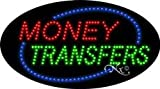 Money Transfers - Animated - Ultra Bright LED Sign - 15'' x 27''