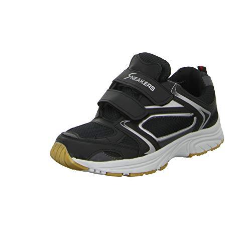 Velcro Argent Noir noir Exercice 210 Baskets Hommes B409061 xawq7wBP