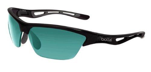 Shiny Black Bolle Tempest Sunglasses Competivision Gun ZZUIXv