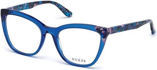 Luc 0 Gafas Adulto blu Azul Monturas 53 Gu2674 De Unisex Guess qpwn67BqZ