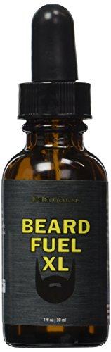 Beard Fuel XL | Top Facial Hair Solution for Maximum Beard Volume | Invigorate and Care for Your Man Beard | Maximize Healthy Growth | Fragrance Free Beard Oil