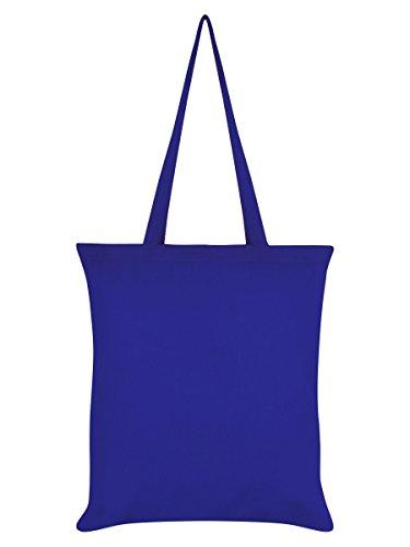 Borsa Tote Fries Before Guys 38 x 42 cm in blu reale