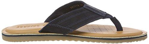 Geox Men's U Artie a Flip Flops Blue (Navy) 9Oepjeum3