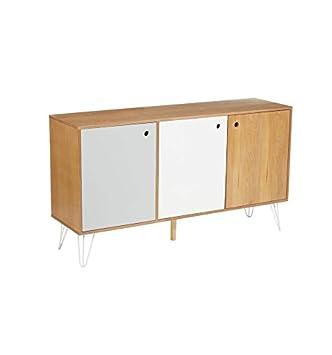 Intérieur Discount Buffet 3 Portes - Shulg - 143 x 40 x 80 cm ...