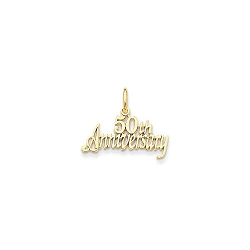 Yellow Gold 50th Anniversary Charm ()