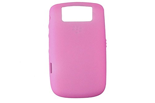 Genuine Blackberry Phone Skin (OEM PINK Blackberry Silicone Rubber Gel Skin Case Cover for Tour 9630 and Bold 9650)