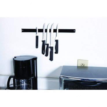 Magnetic Holder for Knife, Utensils and Tools; 18'' Wall or Workbench Mountable