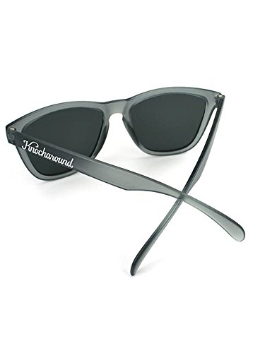 Knockaround Grey Smoke Polarized Sunglasses Frosted Classics rwYx6XqBrI