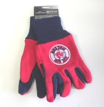 MLB Boston Red Sox Kids Two Tone - Sox Mlb Gloves