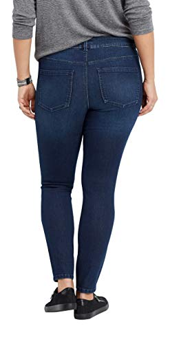 6572e134db8 maurices Women s Everflex Skinny Jeans - Plus Size Dark Rinse High Rise