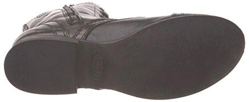 Steve Madden Troopa Damen Schwarz Mode Mitte Calf Stiefel Neu/Display EU 40