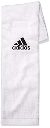 adidas Football Towel, White, One Size ()