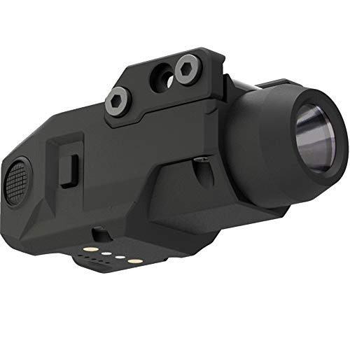 Laspur Sub Compact Tactical Rail Mount LED High Lumen Flashlight