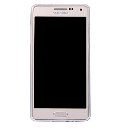 Ecoway IMD Funda para Samsung Galaxy A5(2015), scintillement case Antideslizante Suave Parachoques Resistente a los arañazos Contraportada Funda de silicona Parachoques Carcasa Funda Bumper - Sueños Gatito