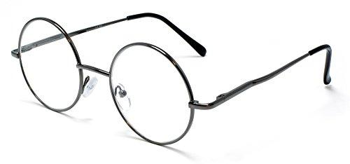 Round Reading Glasses for Men Women Lennon Style by FLORIDA GLASSES® (+ 1.75 - Glasses Florida