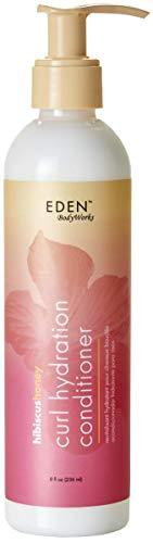 EDEN BodyWorks Hibiscus Honey Curl Hydration Conditioner (Eden Bodyworks Jojoba All Natural Deep Conditioner)