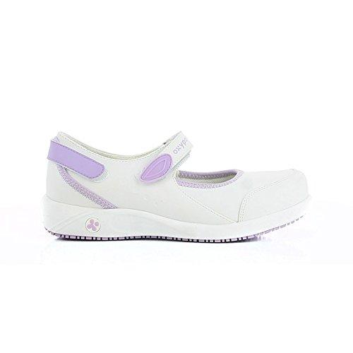 Oxypas Melissa, Women's Safety Shoes, White (Lbl), 8 UK (42 EU)