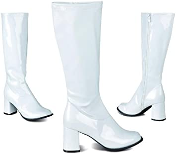 Bottes blanches disco femme taille 38