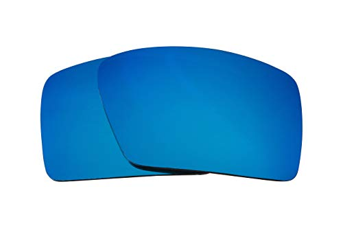 - Replacement Lenses Compatible with OAKLEY Eyepatch 2 Polarized Ice Blue Mirror