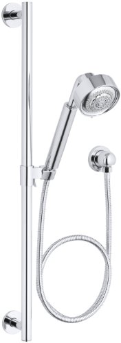 Kohler K-9059-CP Contemporary Handshower Kit, Polished Chrome