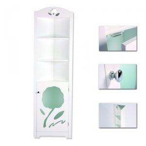 meuble haut de salle de bain d'angle