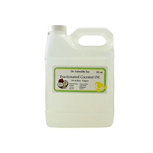 Organic Pure Fractionated Coconut Quart