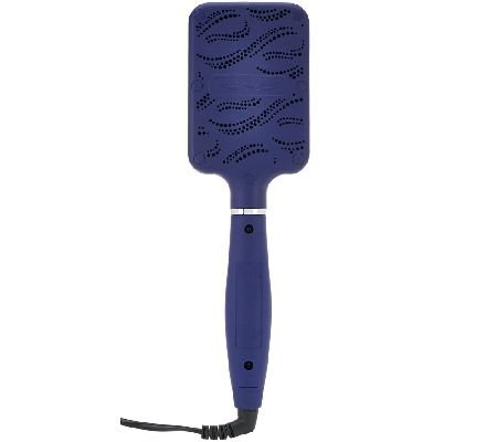 Calista Tools Perfecter Pro Grip Heated Paddle Brush (Navy)