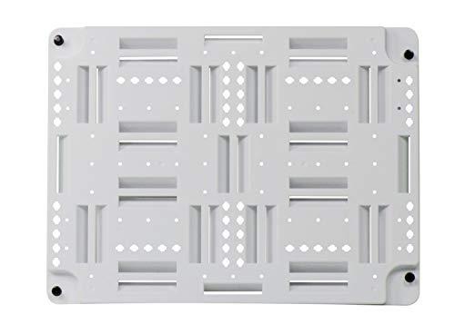 (Legrand-On-Q AC1040 Plastic Universal Mounting Plate, 0.5