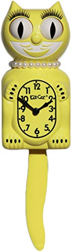 Kit Cat Klock Limited Edition Lady (Majestic Yellow) ()