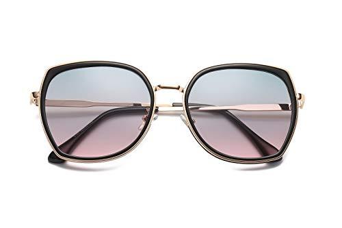 de de Personalidad de Gafas Hombre Ojos B Retro E Gafas polarizadas Sol Mujer Intellectuality Sol P54Wfq8qF