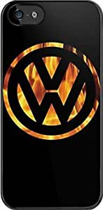 SUUER VW VW fire Custom Hard CASE for iPhone 5 5s Durable Case Cover