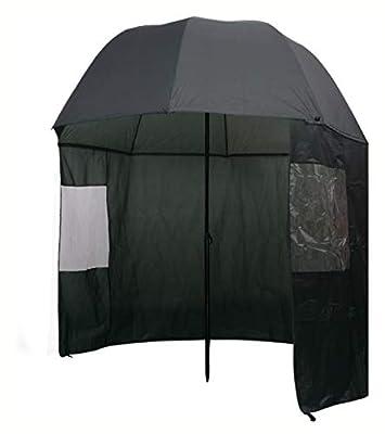 "K&A Company Fishing, Fishing Umbrella Green 118""x94"""