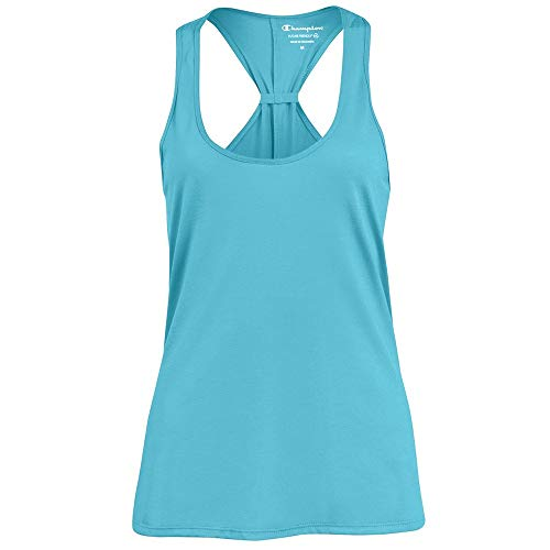 Champion Women's (Turquoise Waters) Triblend Swing Tank Top (Turquoise Tank Top)