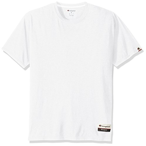 Champion Men's Authentic Originals Soft Wash Short Sleeve Tee, White, XXX-Large - Dyed Cotton Short Sleeve Tee