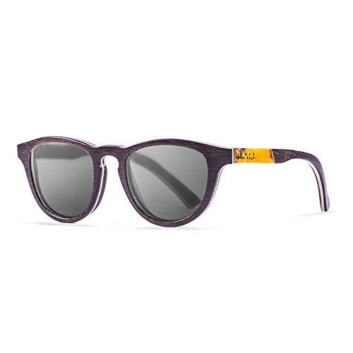 KAU Eyecreators K303000.0 Lunette de Soleil Mixte Adulte, Noir